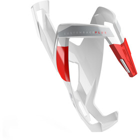 Elite Custom Race Plus Bottle Holder glossy white/red design